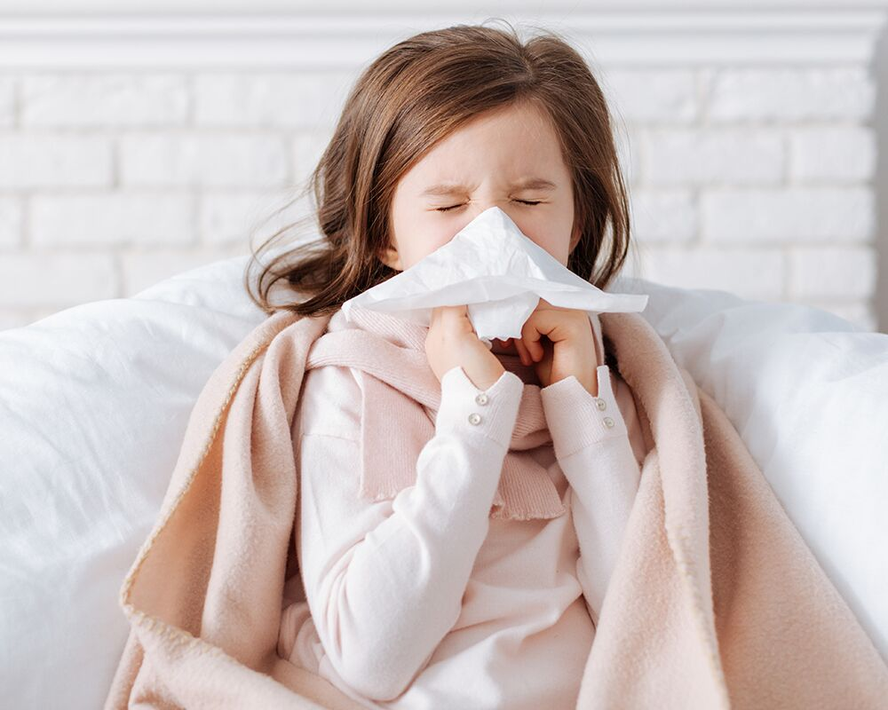 flu symptoms in kids